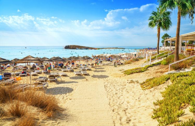 cyprus sandy beach