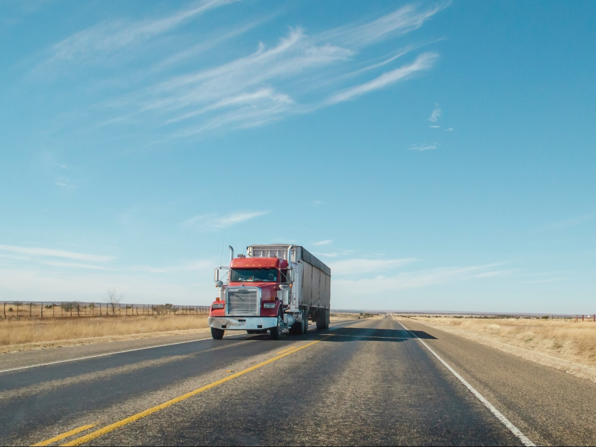 truck driving overseas
